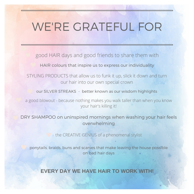 why we're feeling grateful