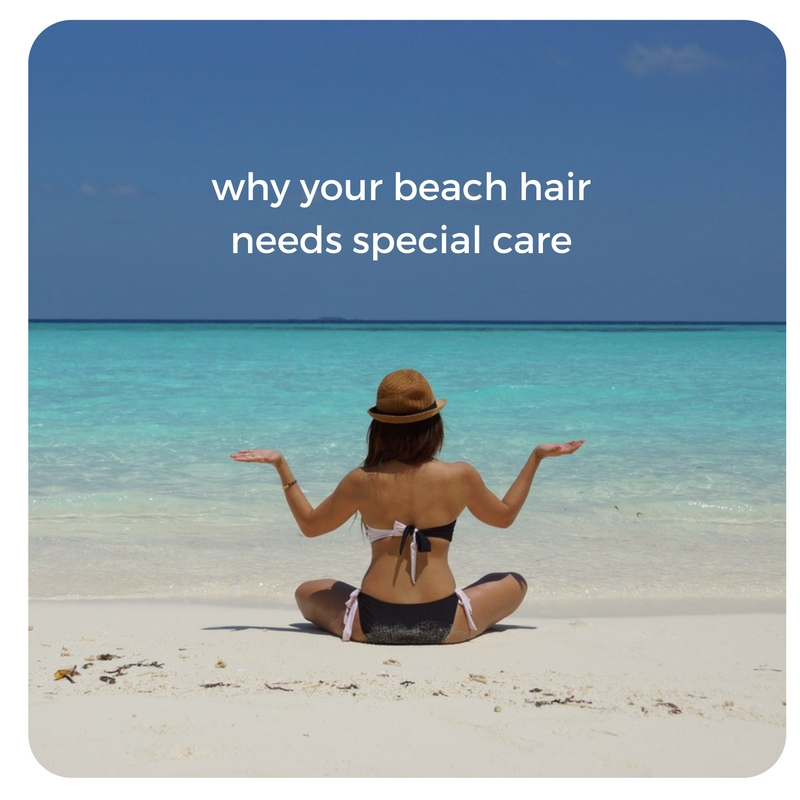 why your beach hair needs special care