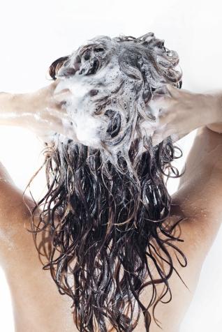 woman-in-shower